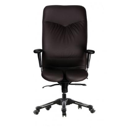 Caesar Chefstol fra Haratech med to-delt sæde - forfra