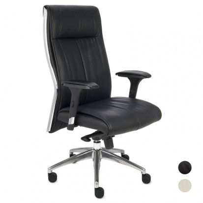 premium kontorstol læder