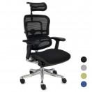 ErgoHuman ergonomisk kontorstol - alle farver