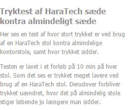 HaraTech sæde