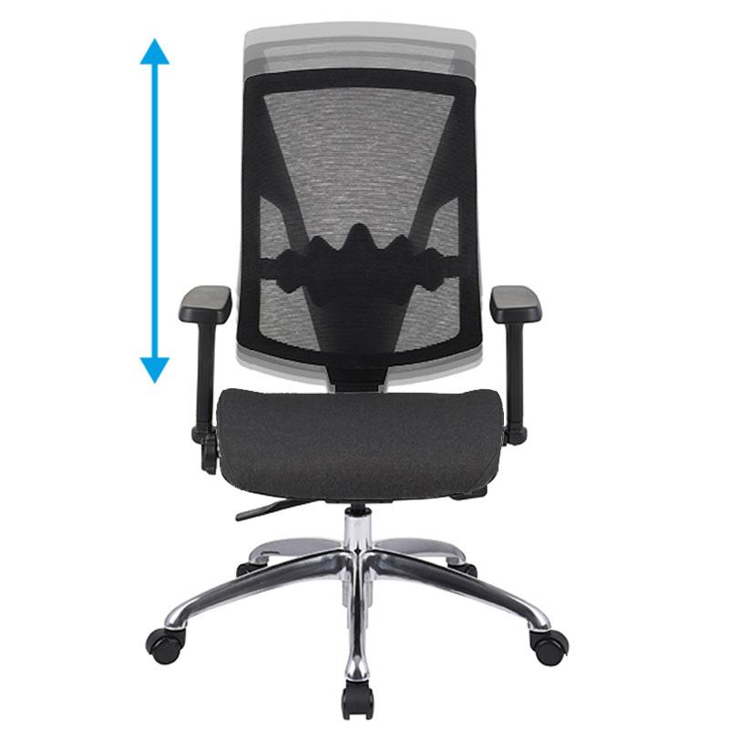 Futura ergonomisk kontorstol med justerbar ryg