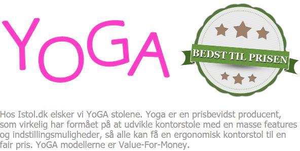 Yoga ergonomisk kontorstol